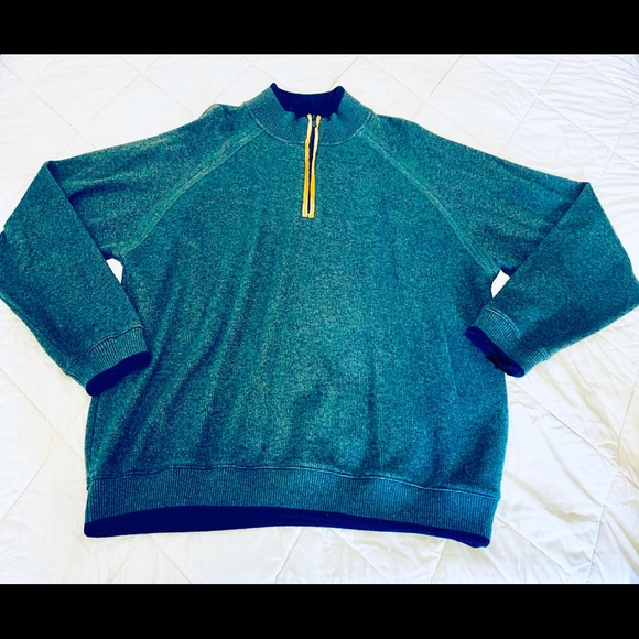 Norm Thompson Other - NORM THOMPSON Zipper Knit Sweater-XL *H718*